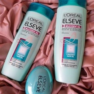 Loreal Paris Elseve 3 Mucizevi Kil Bakım Şampuanı