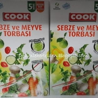 Cook Sebze ve Meyve Torbası
