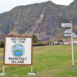 Dünya'nın En Uzak Adası Tristan da Cunha
