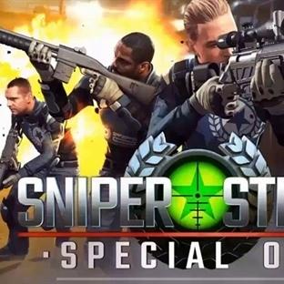 En İyi Keskin Nişancı Oyunları: Sniper Strike