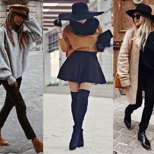 Kadınlara Özel Kış Şapka ve Bereleri