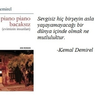 Piano Piano Bacaksız - Kemal Demirel | Kitap Yorum