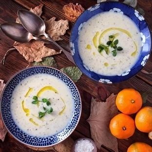 Tavuk Suyuna Yoğurt Çorbası