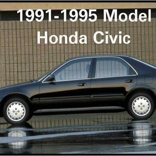 1991-1995 Model Honda Civic