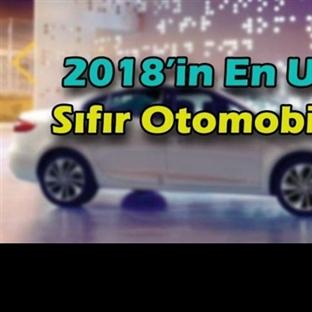 2018 Model En Ucuz Sıfır Otomobiller