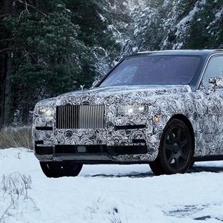 Dünya'nın En Lüks SUV'u Rolls Royce Cullinan