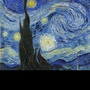 Gizem Dolu Hikayesiyle Yıldızlı Gece Resmi
