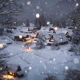 Japonya'dan Kar Manzaraları