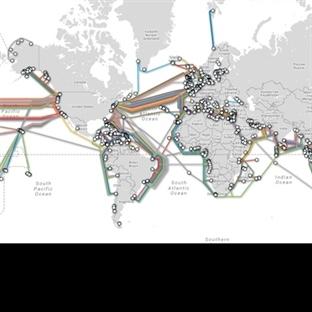 İnternet Tüm Dünyaya Nasıl Yayılıyor?