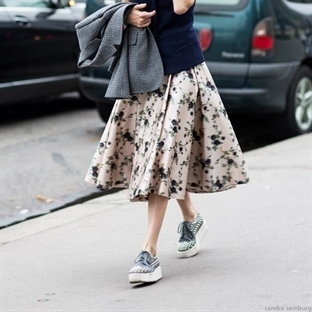 Trend: Platform spor ayakkabı
