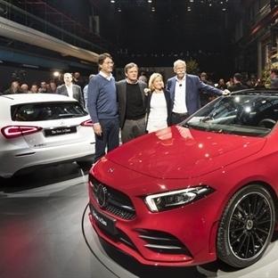Yeni Mercedes; Benz; A 200, A 250 ve A 180 d
