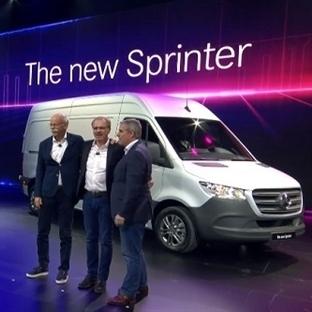 Yeni Mercedes Benz Sprinter'in Lansmanı Yapıldı