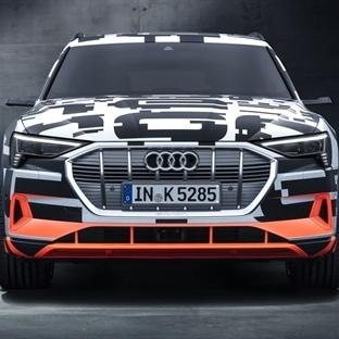 Audi, Elektrikli SUV'nin Test Sürüşlerine Başlıyor