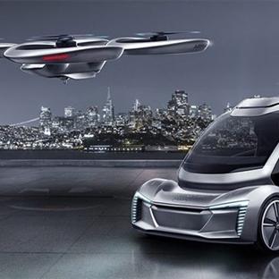Audi Uçan Otomobil Yapmak İçin Hazırlanıyor