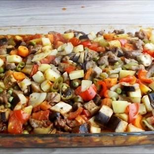Etli sebze kebabı tarifi