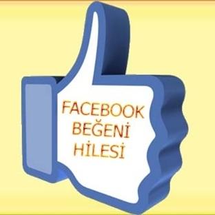 Facebook Beğeni Hilesi 2018