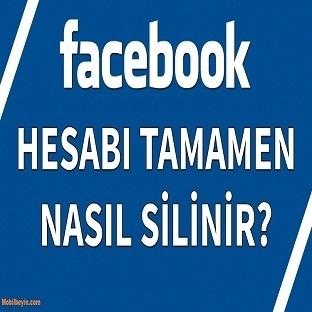 Facebook Hesabı Nasıl Silinir?