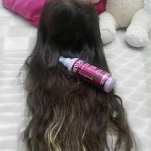 Sağlıkla parlayan & güçlenerek hızla uzayan saçlar