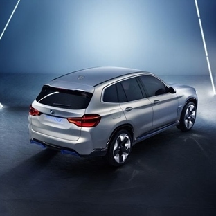2019 BMW İX3 Yeni Elektrikli Araba