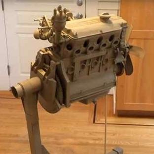 BMW'nin Kartondan Ürettiği Motor