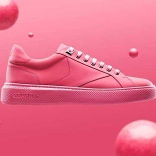 Bu Spor Ayakkabının Tabanı Sakızdan!