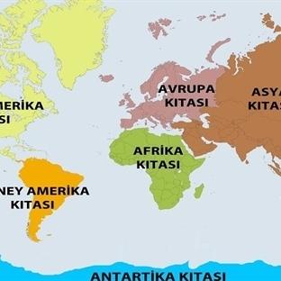 Kıtaların İsimleri Nereden Geliyor