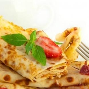 Sağlıklı Krep Böreği ve Krep Dürümü