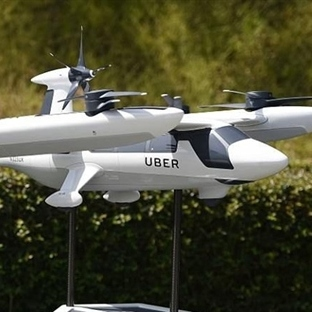 """Uberden Uçan Araç """"ELEVATE"""" Hizmeti"""
