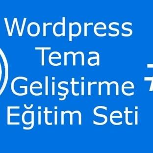 WordPress Tema Geliştirme Eğitim Seti #1 PSD Tasar