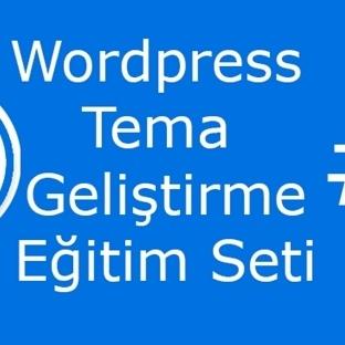 WordPress Tema Geliştirme Eğitim Seti #3 PSD Tasar