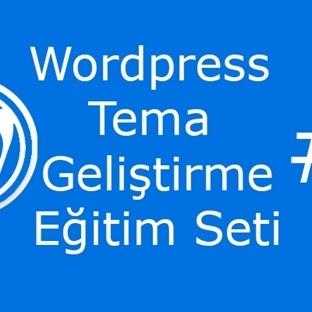 WordPress Tema Geliştirme Eğitim Seti #4 PSD To CS