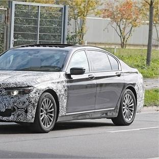 2019 BMW 7 serisi'nin yeni görüntüleri ortaya çıkt