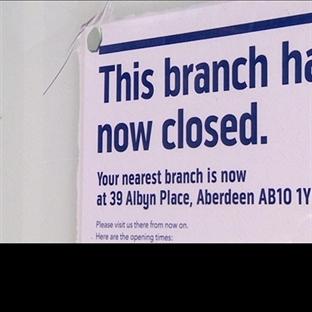 Birleşik Krallık ayda 60 banka şubesini kapatıyor