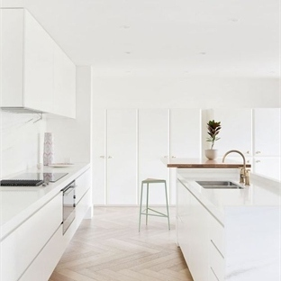 Bütün Modelleri ve Renkleri ile Beyaz Mutfaklar