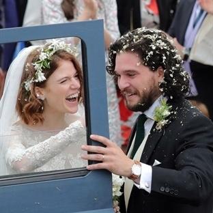Game of Thrones'un Ünlü Oyuncuları Evlendi