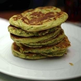 Ispanaklı Peynirli Pancake
