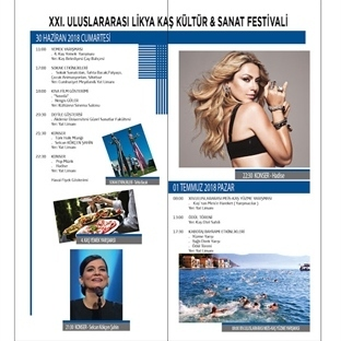 Likya Kaş Kültür & Sanat Festivali 29 Haziran'da!