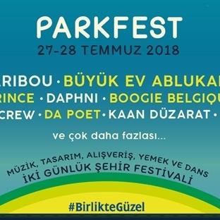 Parkfest  27 - 28 Temmuz'da gerçekleşiyor