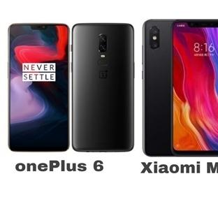 Xiaomi Mi8 vs OnePlus 6 karşılaştırma