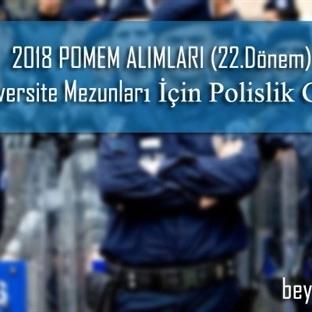 2018 POMEM Alımları ve POMEM Başvuru Şartları