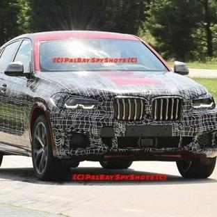 2020 BMW X6'nın M50i versiyonu ilk fotoğrafları