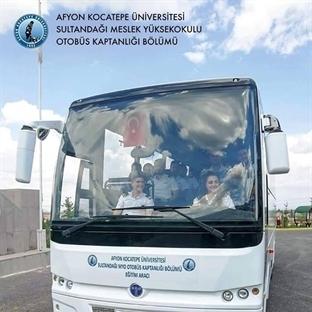 Yüksek Öğretimde, Otobüs Kaptanlığı Bölümü