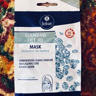 Bee Beauty Diamond Lift 4D Yüz Maskesi