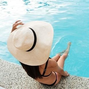 Tatil keyfiniz havuza düşmesin