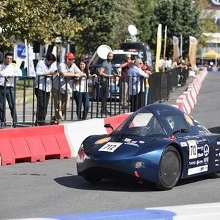 Alternatif yakıtlı araçlar yarışı yapıldı