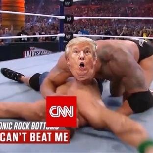Trump! En Zengin ve En Sarışın Güreşçi