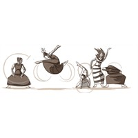 Google 11 Mayıs Logosu - Martha Graham