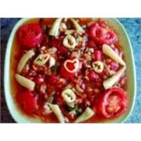 Nar Ekşili Domates Salatası