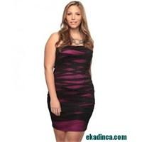 2013 Büyük Beden Gece Elbisesi Modelleri