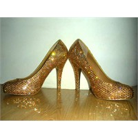 Diy Swarovski Shoes